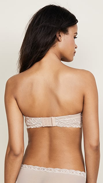 Natori Feathers Strapless Plunge Multi Way Bra