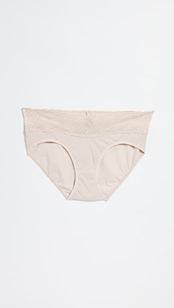 Natori Bliss Perfection Maternity Bikini Briefs - Cameo Rose