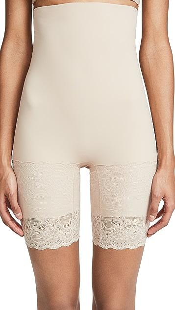 Natori Plush High Waist Thigh Shaper