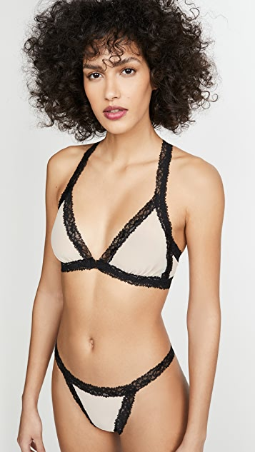 Natori Speechless Front Close Bralette