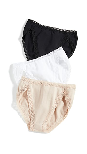 Natori Bliss French Cut Briefs 3-Pack