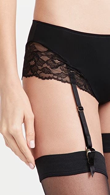 Natori Eclipse Briefs With Removable Garters
