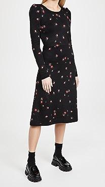Naya Rea Amanda Jacquard Knitted Dress