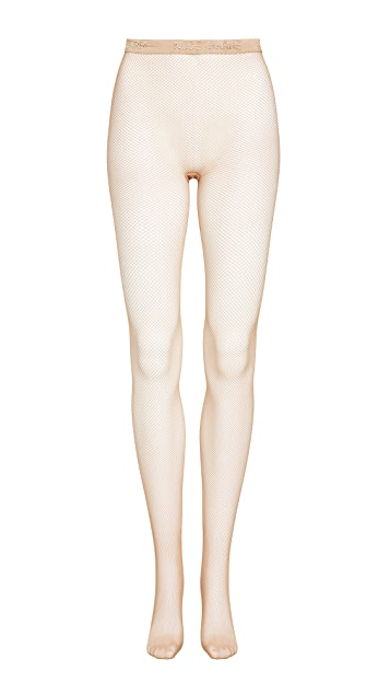 Nude Barre 渔网裤袜
