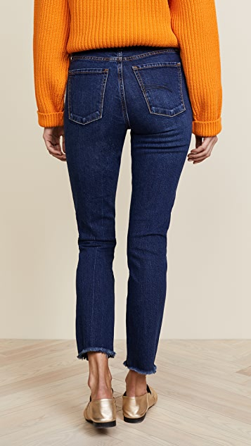 Nobody Denim The True Highrise Slim Straight Ankle Jean