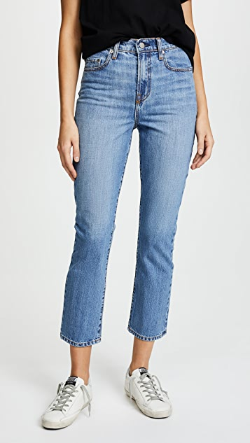 Nobody Denim The Charlotte Tailored Straight Leg Jeans