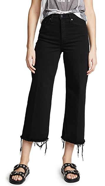 Nobody Denim Milla High Rise Wide Leg Jeans