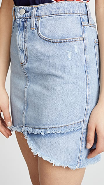 Nobody Denim The Crossover Skirt