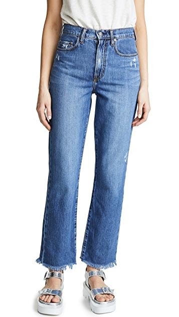 Nobody Denim The Arlo Relaxed Straight Leg Jeans