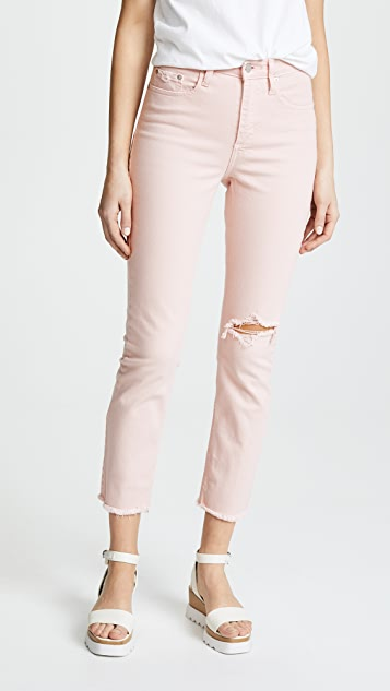 Nobody Denim The True Slim Straight Ankle Jeans