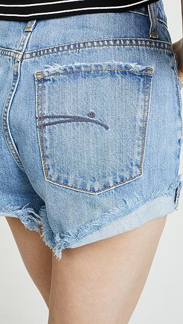 Nobody Denim The Skyline Frayed Shorts