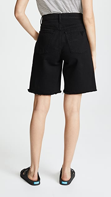 Nobody Denim Parker Long Shorts