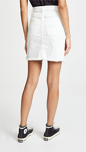 Nobody Denim The Siren High Rise Denim Skirt