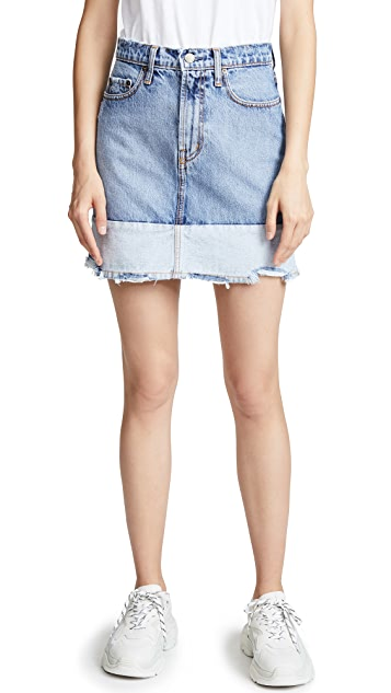 Nobody Denim Reverse Skirt