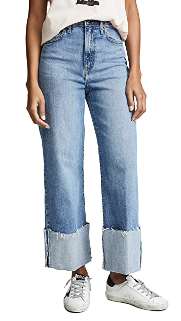 Nobody Denim Milla Cuffed Jeans