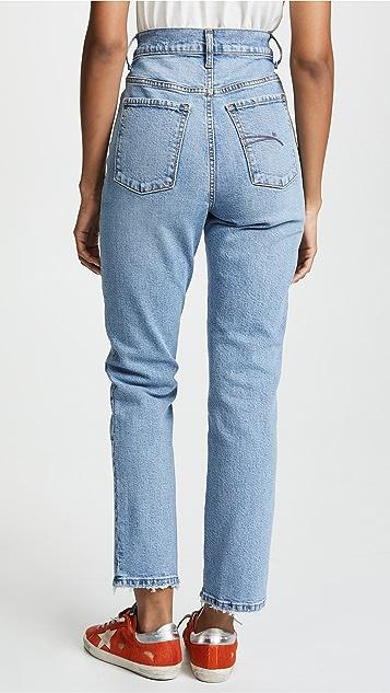 Nobody Denim Charlotte Super High Rise Ankle Jeans