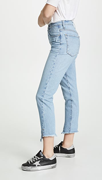 Nobody Denim Bessette Twisted Jeans