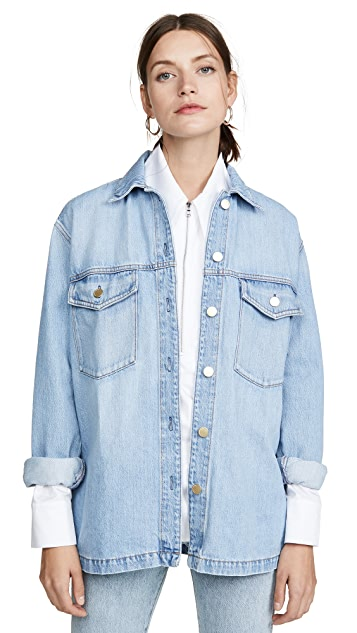 Nobody Denim Archer Shirt Jacket