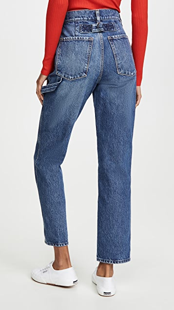 Nobody Denim Studio Straight Leg Jeans