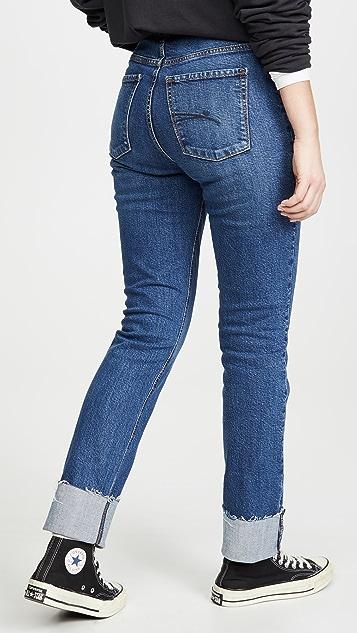 Nobody Denim True Cuffed Jeans