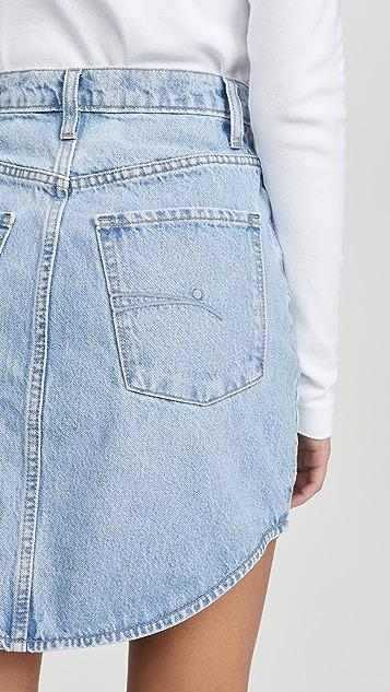 Nobody Denim Tidal Short Skirt