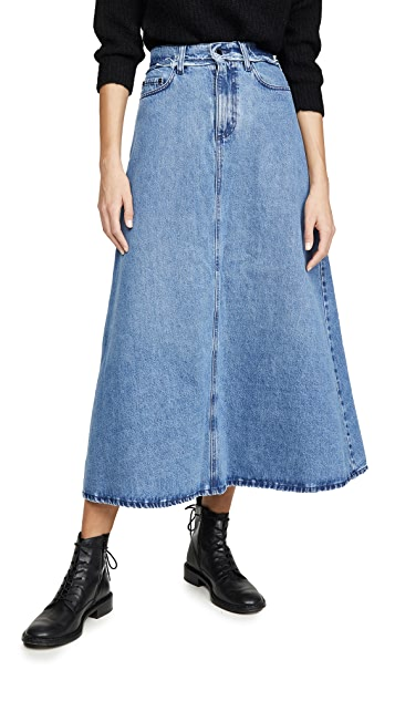 Nobody Denim Como Skirt