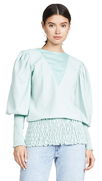 N DUO Puff Sleeve Blouse