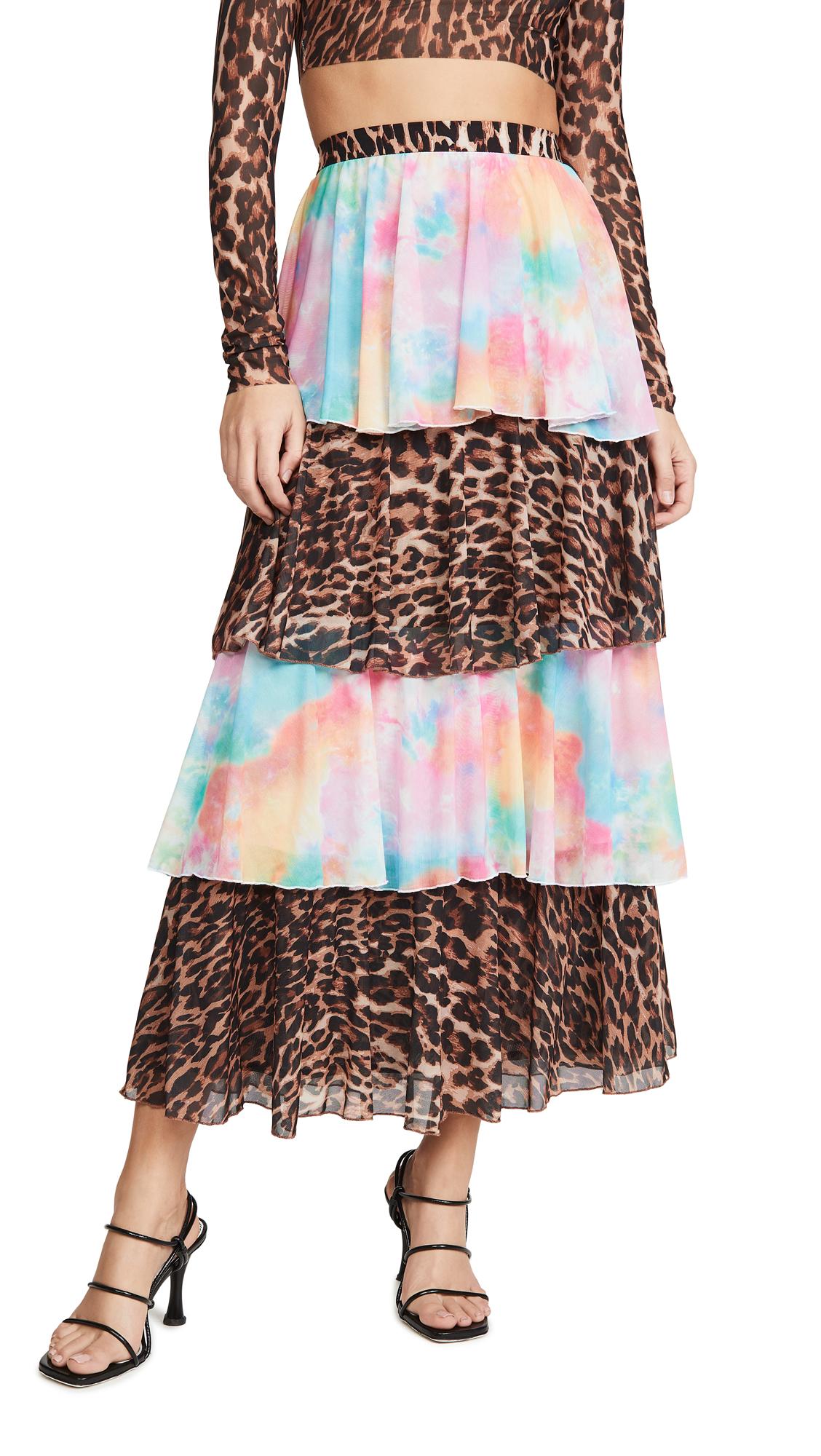 N DUO Ruffle Skirt