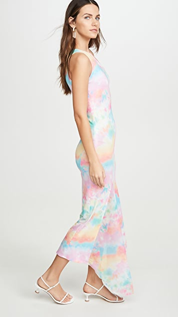N DUO Tie Dye Cut Out Dress