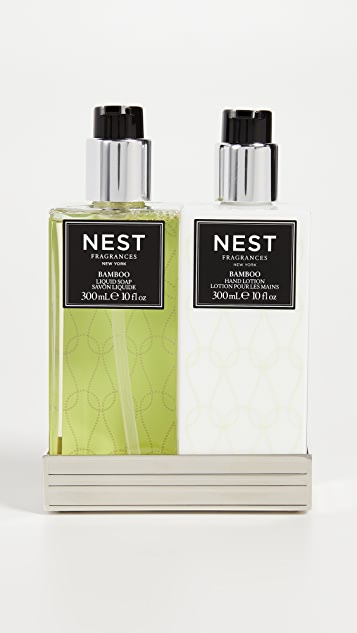 Nest Fragrance Bamboo Scent Soap & Lotion Set