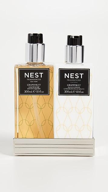 Nest Fragrance Набор из мыла и лосьона с ароматом грейпфрута