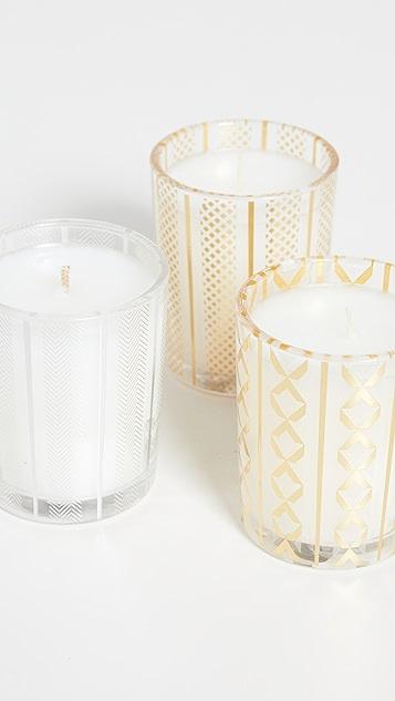 Nest 香氛 节日香薰蜡烛三件装