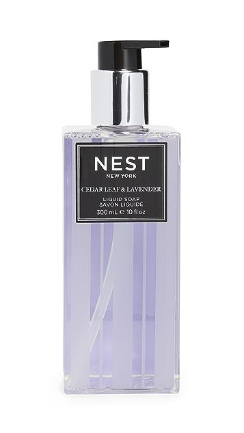Nest Fragrance Cedar Leaf & Lavender Soap