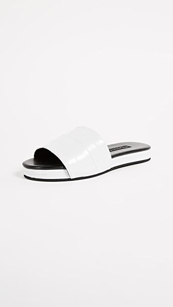Newbark Frankie Slides - White