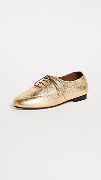 Newbark Charlie Oxfords - Metallic