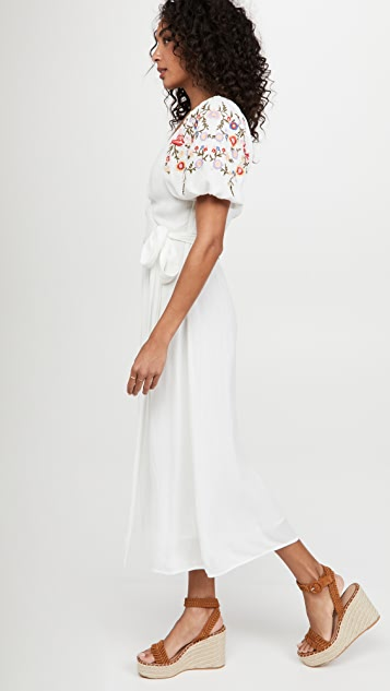 Never Fully Dressed White Meadow Dress