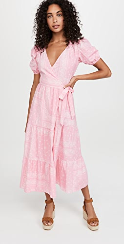 Never Fully Dressed - Pink Bandana Dress