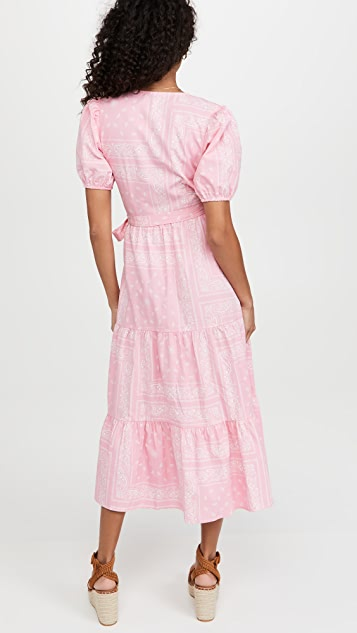 Never Fully Dressed Pink Bandana Dress