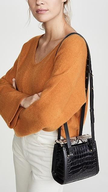 Nico Giani Вертикальная сумка на ремне Olivia
