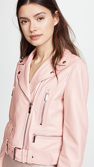 Nour Hammour Route Leather Jacket