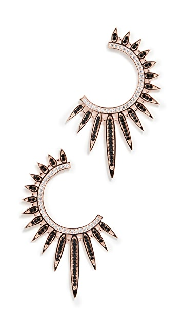 Nickho Rey Sunburst Earrings