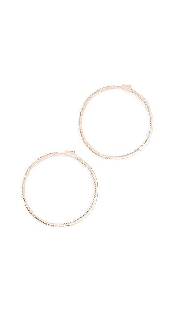 Nickho Rey Evie Slim Hoop Earrings