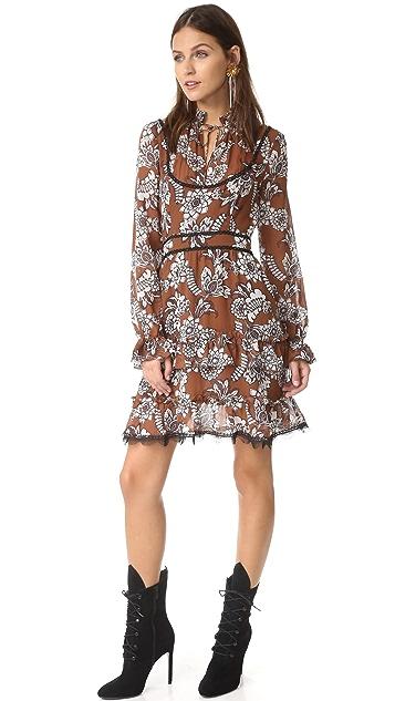 Nicholas Wallpaper Yoke Dress