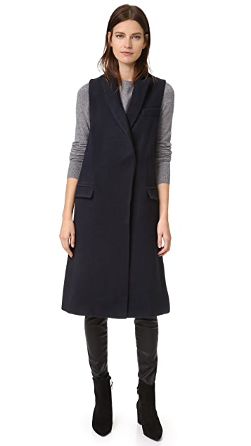 Nicholas Wool Double Breasted Vest