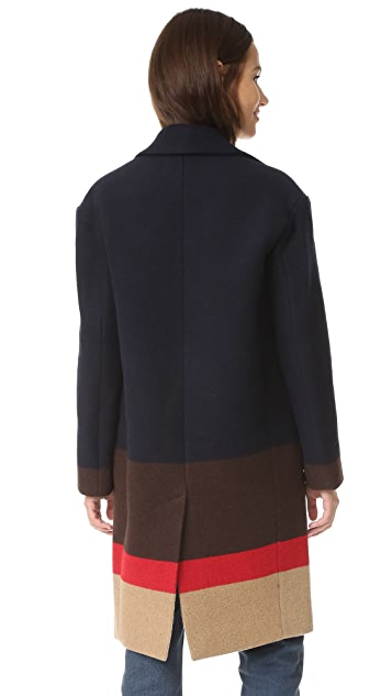 Nicholas Drop Shoulder Coat