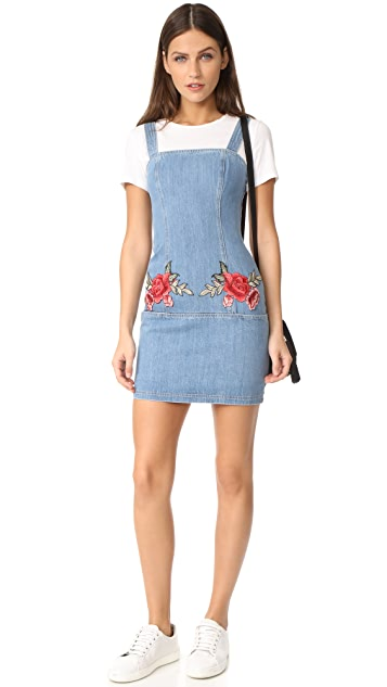Nicholas N/Nicholas Embroidered Floral Mini Dress