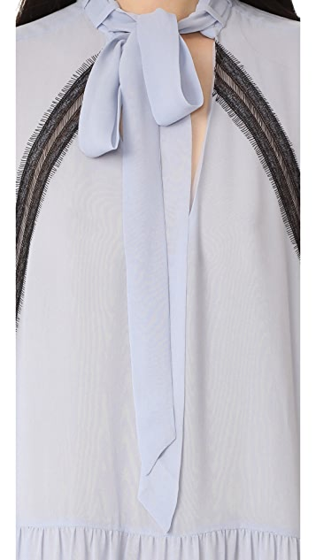 Nicholas Georgette Shirtdress