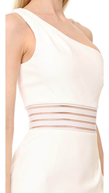 Nicholas Bandage One Shoulder Dress