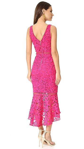 Nicholas Lace Plunge Dress