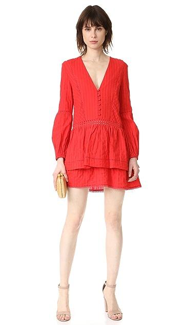 Nicholas N/Nicholas Long Sleeve Mini Dress